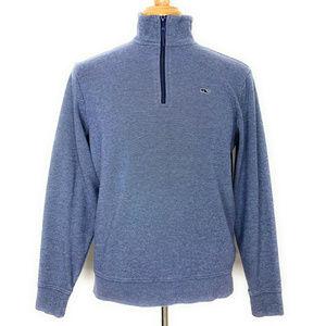 Vineyard Vines 1/2 Zip Pullover Sweatshirt Blue S